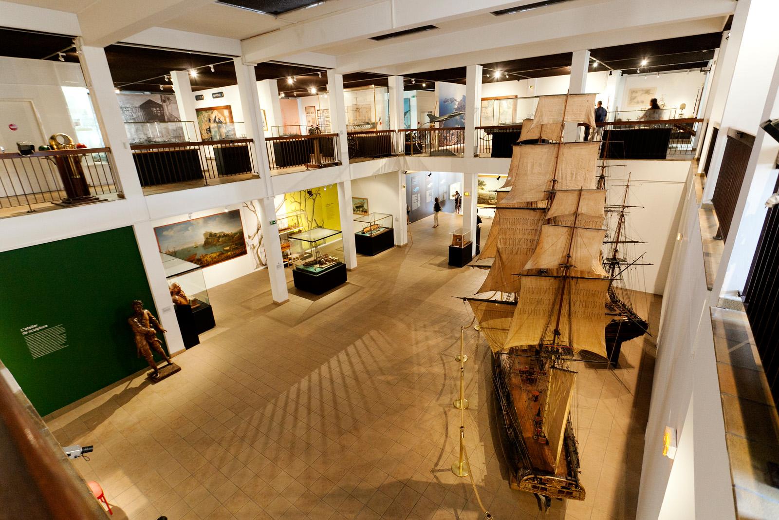 Scénographie Musée national de la Marine de Toulon